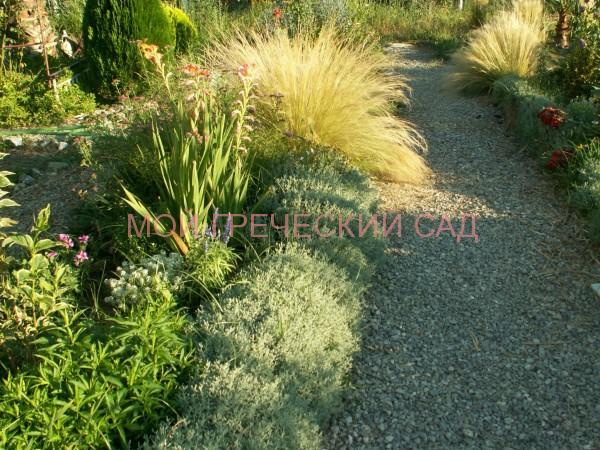 Мой греческий сад Дорожки из гравия фото