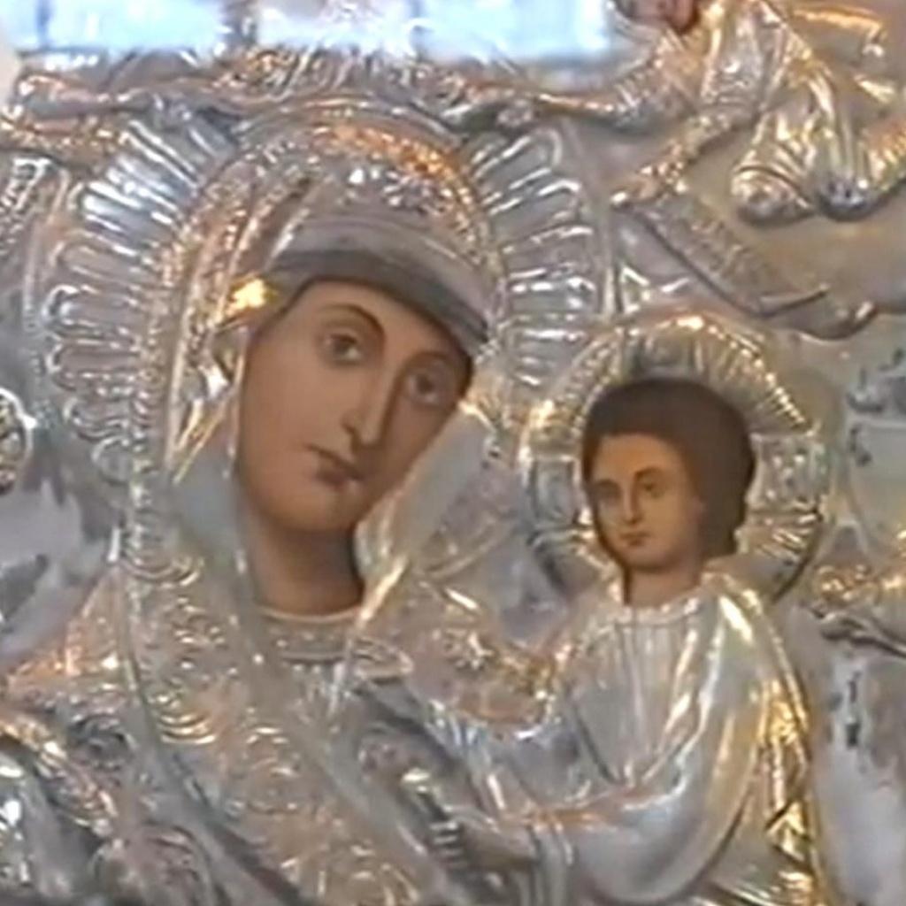 Богородица со змеями