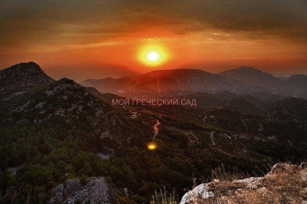 греция, горы
