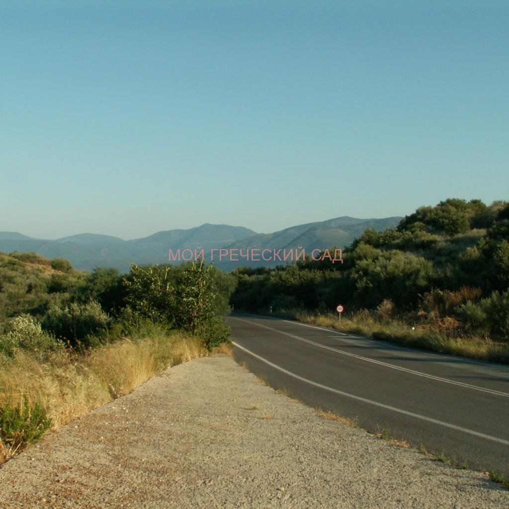 Дорога через перевал очень живописна