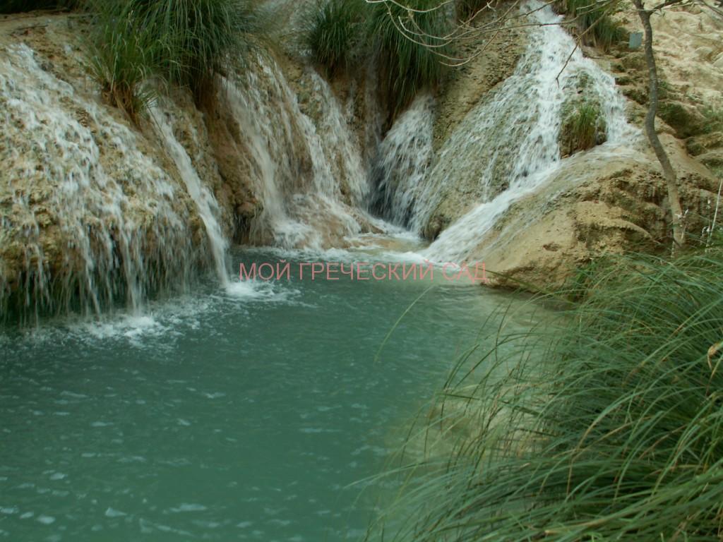Водопады Грециию Полилимнио фото