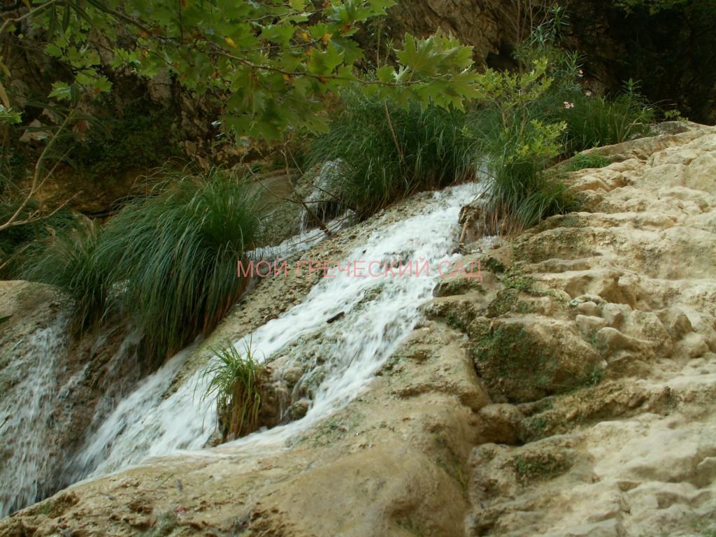 Водопады Полилимнио фото
