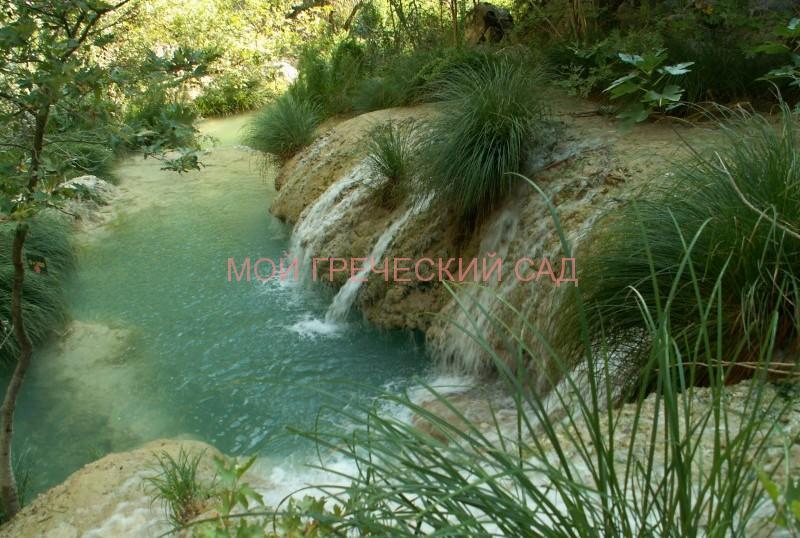 водопады и озера Полилимнио фото