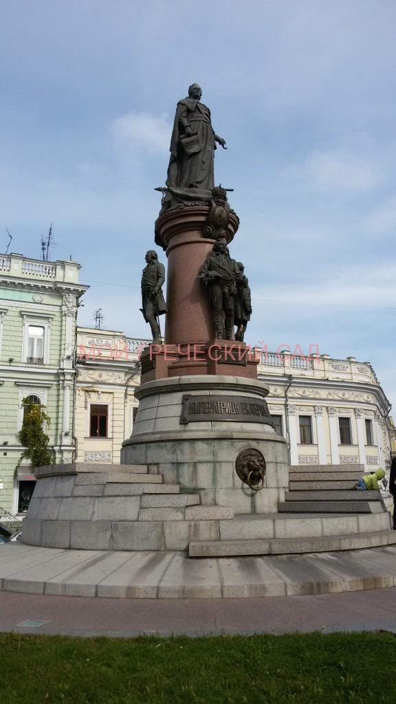 Памятник основателям Одессы фото