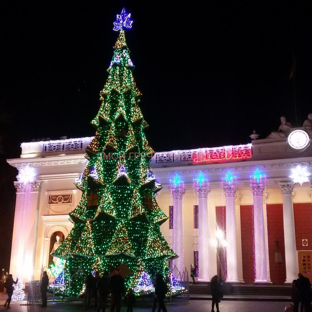 Новый год в Одессе фото