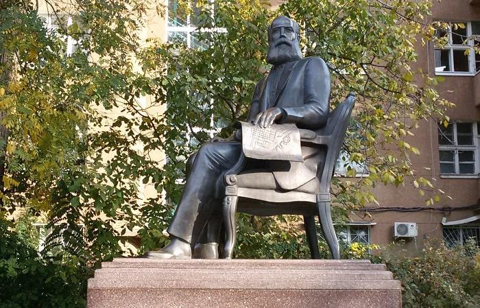 Греки Одессы памятник Г. Маразли фото
