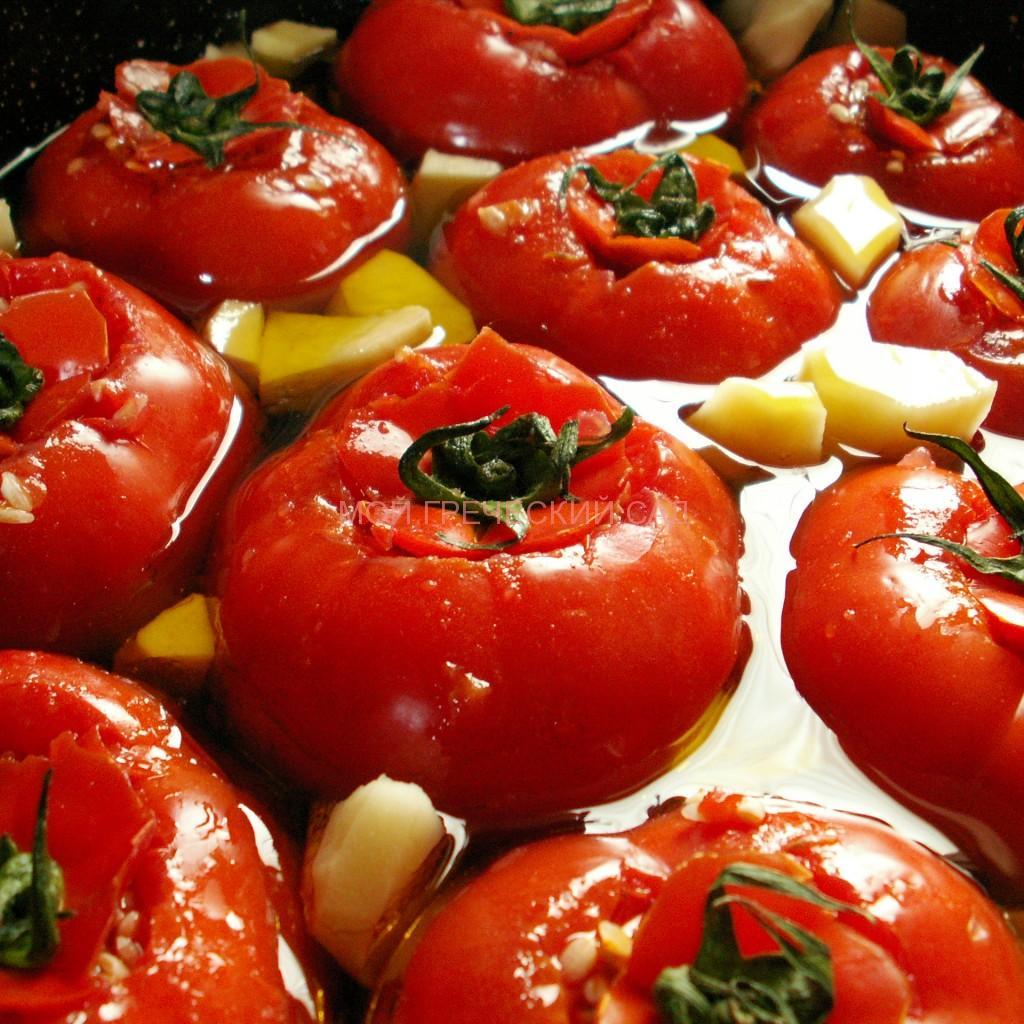 фаршированные овощи по-гречески фото