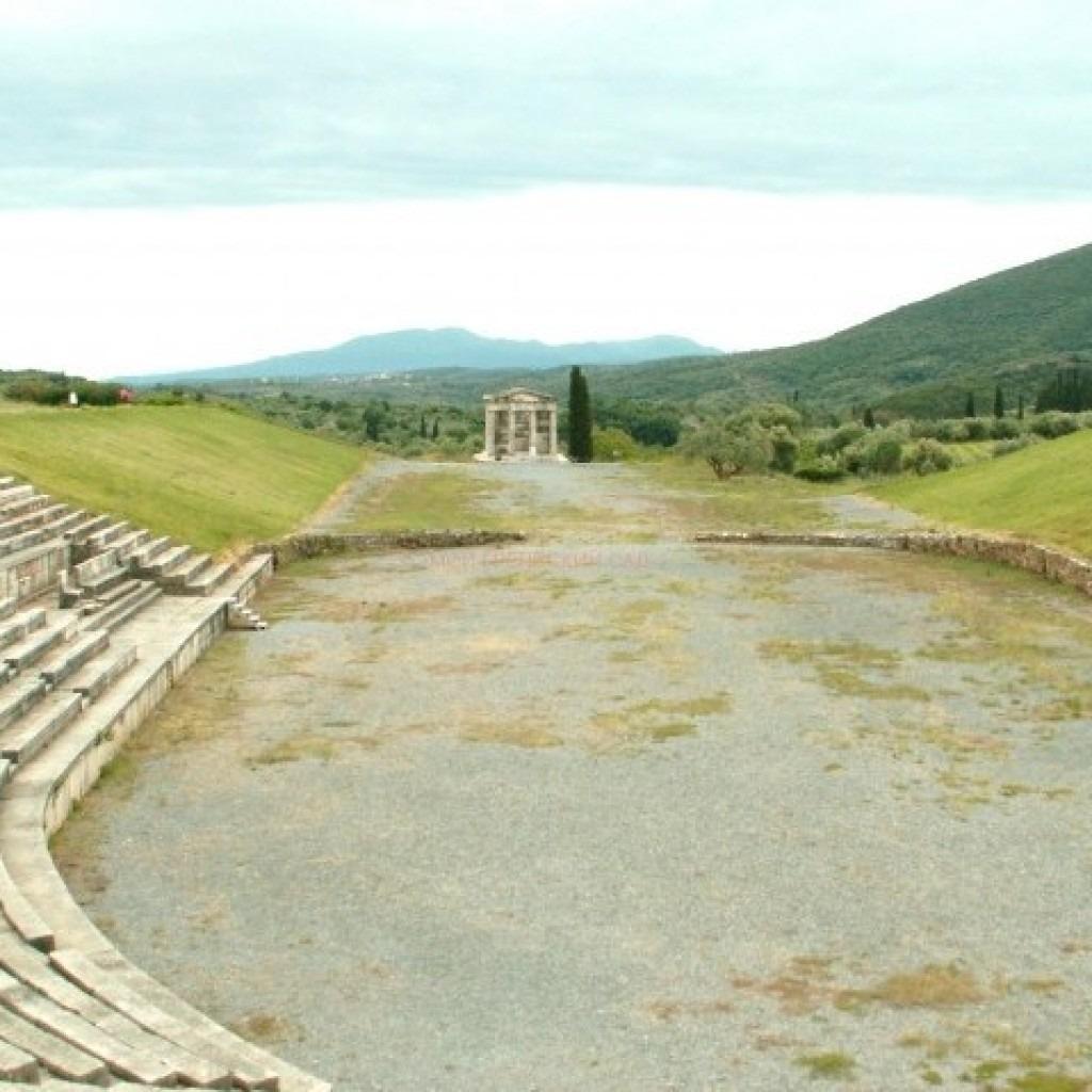 стадионы древней греции