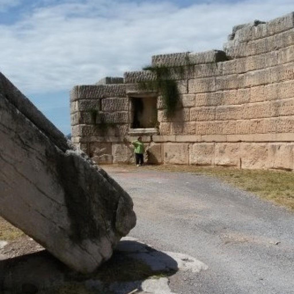 крепости древней греции