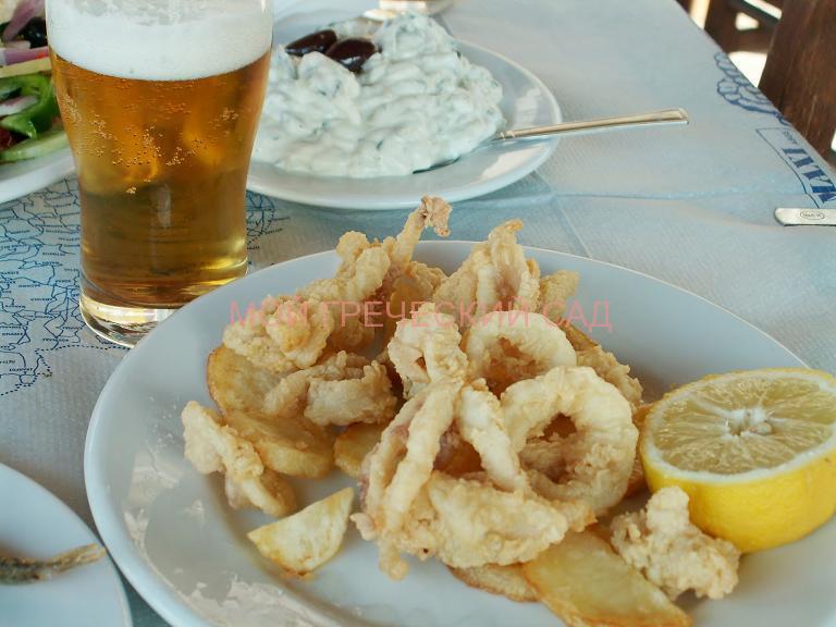 блюда греческой кухни фото