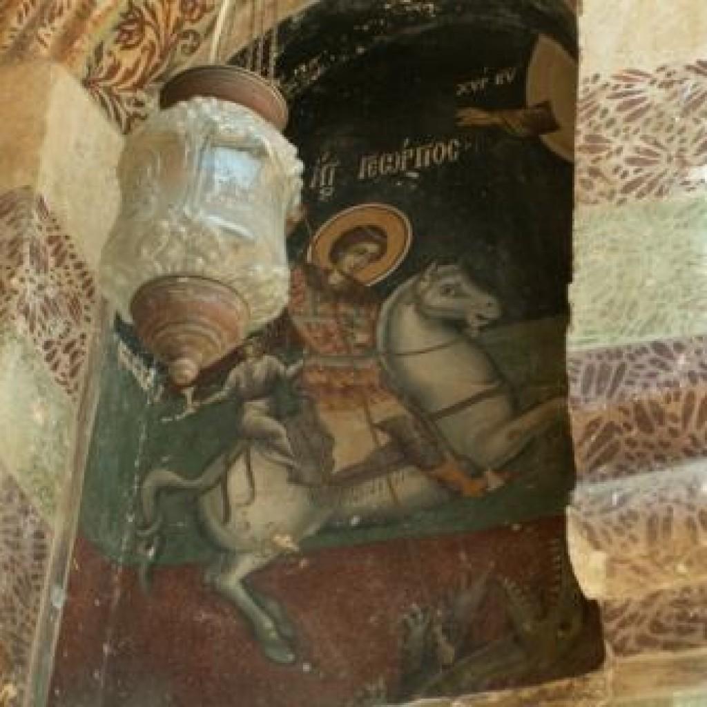 икона Святого Георгия фото