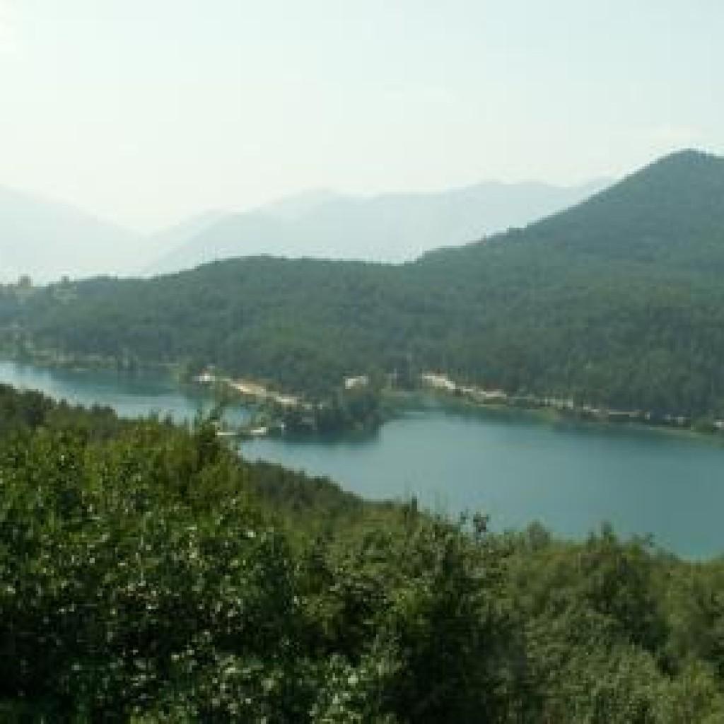 озеро Докса Греция фото